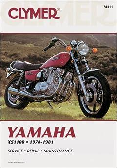 Yamaha XS1100 Fours, 1978-81: Clymer Workshop Manual