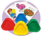 Flash & Playing Card Holders (Set of 4) - Super Duper Educational Learning Toy for Kids