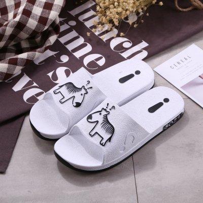 le casa pantofole fankou Q personalizzato scarpe da pantofole uomini cool white le dehor slip bagno a codice estivo estate 45 per maschio anti 46 spiaggia wqzrStTwPA