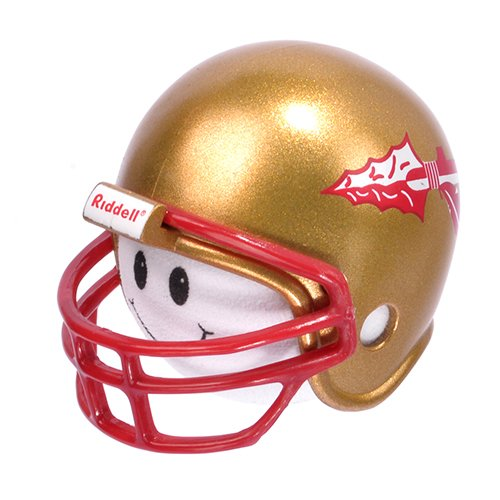 NCAA College Football Florida State Seminoles Car Antenna Topper & Yellow Smiley Antenna Topper (Riddell) Tenna Tops®