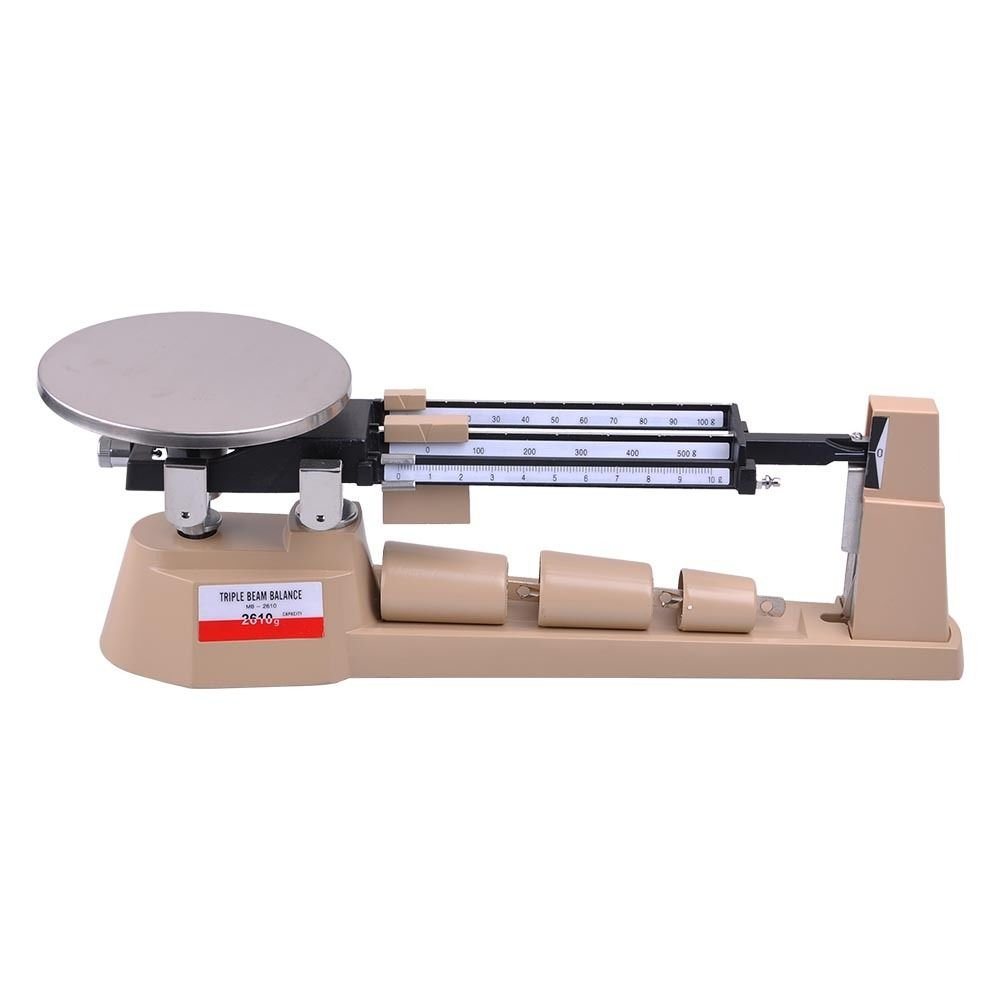 Generic YZ_740868YZ_7 Triple Beam Pan riple B Mechanical Balance cal Ba Analytical Weighing Scale 2610gX0.1g Analyt Scale Lab NV_1008004086-YZUS7