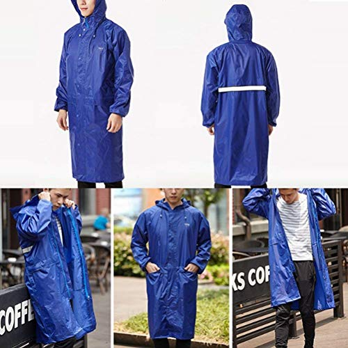 Impermeable Reutilizable Con Libre Unisex Camping Trabajo Poncho 5OOqI1