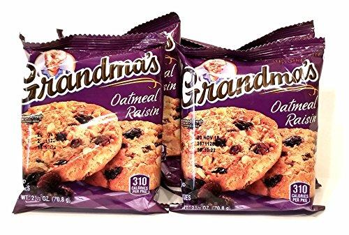 Grandma's Cookies Oatmeal Raisin Flavored 8 Cookie - Chewy Oatmeal Cookies Raisin