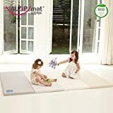 [Alzip New Eco Mat] Folding, Non-Toxic, Reversible G Playmat -Modern Gray Color (200x140x4cm)