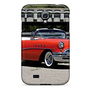 High-end Case Cover Protector For Galaxy S4(1955 Buick 66c)