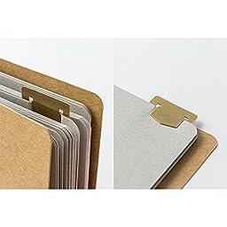Midori Brass Template Bookmark, Number (42168006)