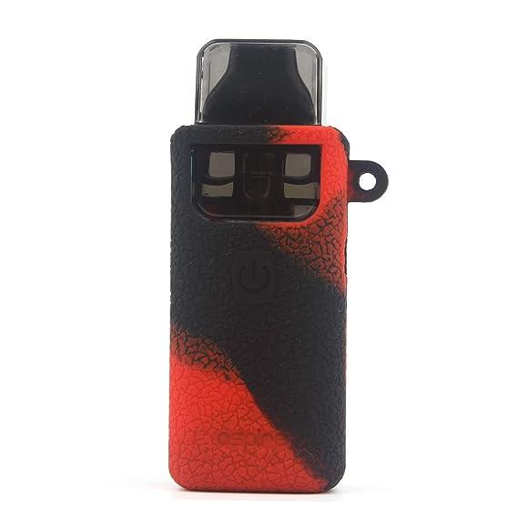 CEOKS for Aspire Breeze 2 Silicone Case, Anti-Slip Protective Silicone Case  Skin Rubber Cover for Aspire Breeze 2 TC Mod Box Rubber case wrap Shield