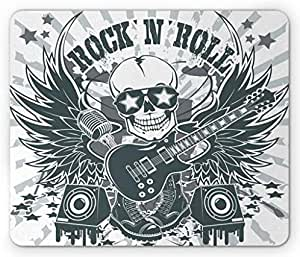 Amazon.com : Lunarable Rock and Roll Mouse Pad, Punk Theme