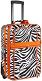 Orange Zebra 20 Inch Expandable Carry On Rolling Luggage Review