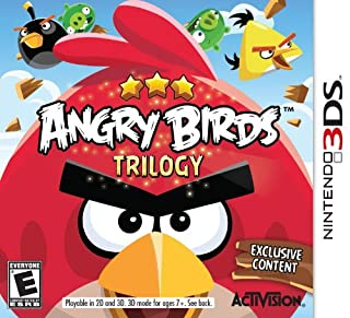 Angry Birds Trilogy - Nintendo 3DS (B008J16AQK) | Amazon price tracker / tracking, Amazon price history charts, Amazon price watches, Amazon price drop alerts