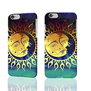 "Sun And Moon Celestial 3D Rough iphone 6 -4.7 inches Case Skin, fashion design image custom iPhone 6 - 4.7 inches , durable iphone 6 hard 3D case cover for iphone 6 (4.7""), Case New Design By Codystore"