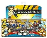 Wolverine Super Hero Squad Wolverine Blob Iceman Colossus