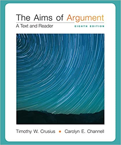 9781259284892:the aims of argument a text & reader 8th edition.