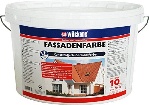 Fassadenfarbe (Fassadenfarbe weiss 10 Liter)