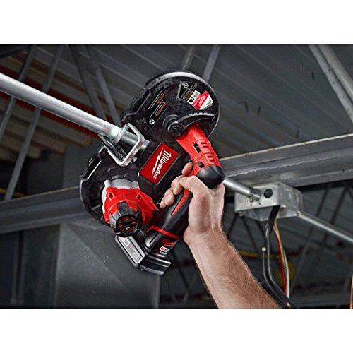 Milwaukee New 2429-21xc M12 12 Volt Deep Cut Cordless Portable Band Saw Kit