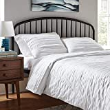 Amazon Brand – Rivet Raw-Edge Cotton Duvet Cover