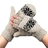 #6: 3M(TM)Thinsulate(TM) Type C100 Thermal Insulation Wool Mittens ,Gloves