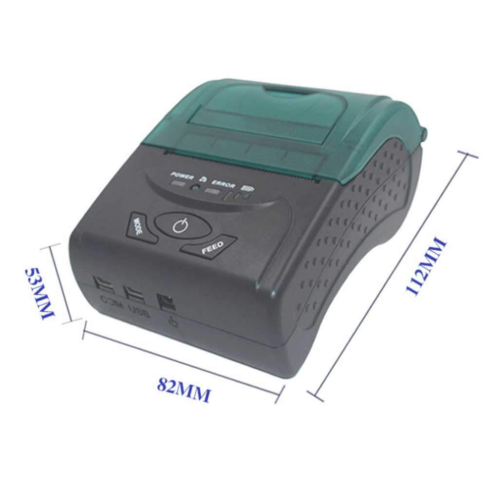 Dmosster Impresora térmica portátil Bluetooth ESC/POS para ...