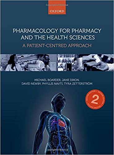 Pharmacology for Pharmacy and the Health Sciences: A Patient-Centred Approach, 2nd Edition - Original PDF