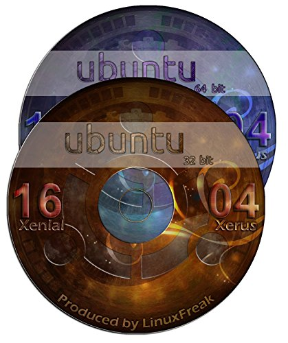 Ubuntu Linux 16.04 Special Edition DVD Set - Includes both 32-bit and 64-bit Versions - Long Term Support by...