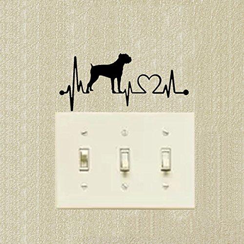 KGTHSS Cane Corso kreative Classic Hund Schalter Aufkleber Dekoration Decals 2 SS 0806