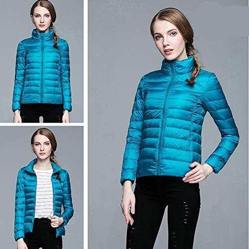 Xiaig Hiver Respirant Doudoune Outwear Duvet Matelassée Léger Manteau Chaud S Longues Veste Mode Femmes Puffer CrFqUngCw