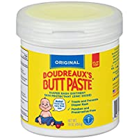 Boudreaux's Butt Paste Diaper Rash Ointment - Original - Contains 16% Zinc Ox...