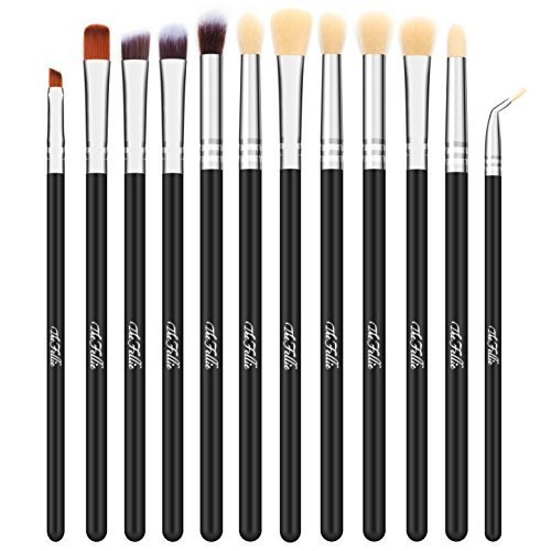 TheFellie Eye Makeup Brushes, Eyeshadow Blending Makeup Brus