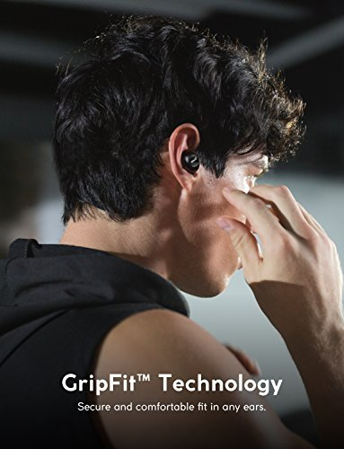 Anker ZOLO Liberty+ True Wireless Earphones, Bluetooth Earbuds with Graphene Drivers and 48-hour Battery Life, Sweatproof with Smart AI and Toggle Sound Isolation (Black) by Anker (Image #3)