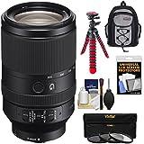 Sony Alpha E-Mount FE 70-300mm f/4.5-5.6 G OSS Zoom Lens 3 Filters + Backpack Case + Flex Tripod + Kit A7, A7R, A7S Mark II Cameras