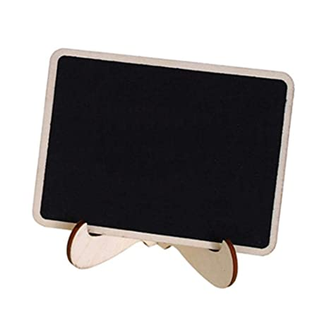 10PCS Mini Chalkboard Place Card Signs with Stand ...
