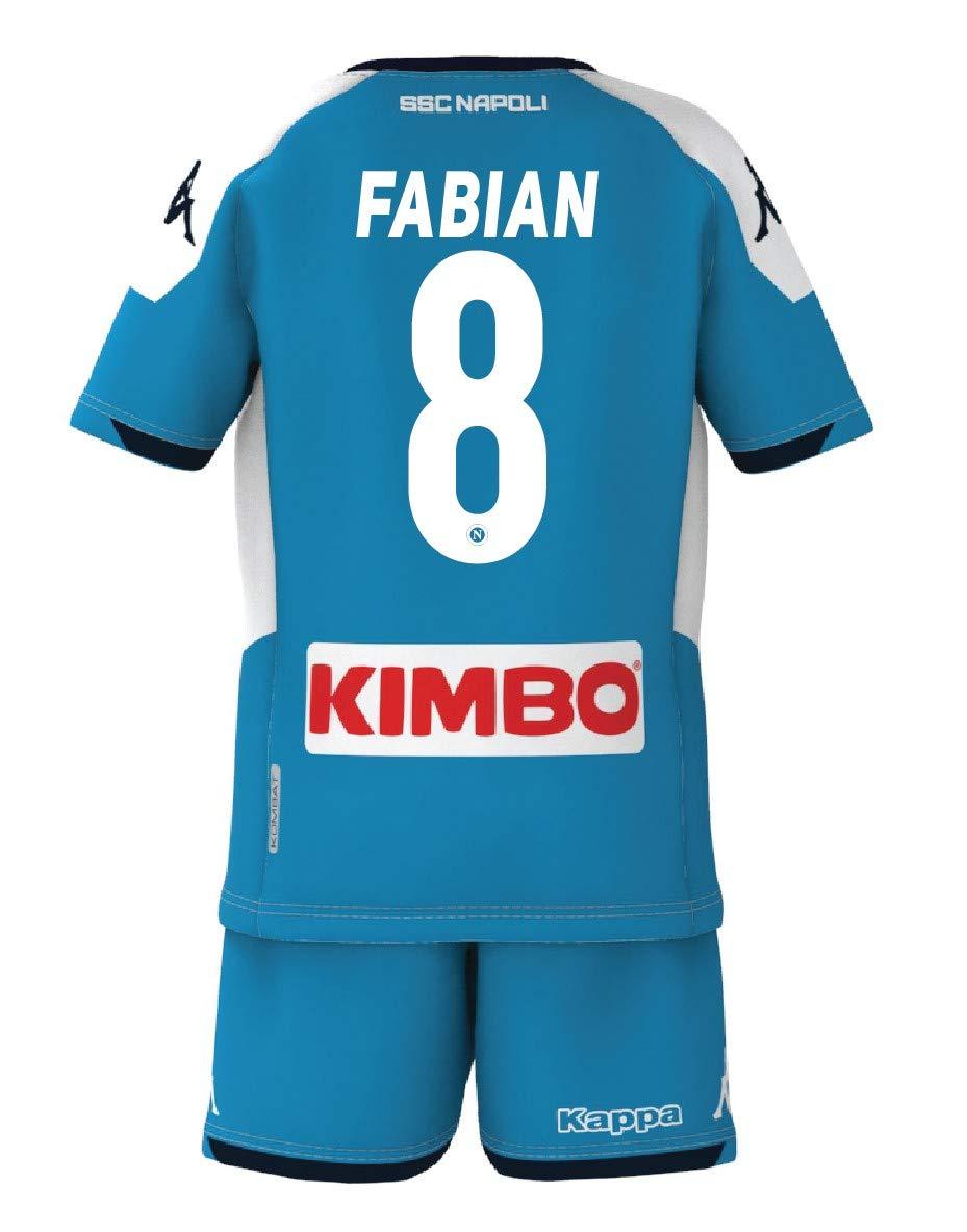 Kit Gara Bambino ssc napoli 2019/2020 Calcio Sport e tempo libero ...