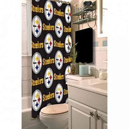 Image Unavailable Not Available For Color NFL Pittsburgh Steelers Decorative Bath Collection