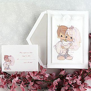 Amazon Com Precious Moments Wedding Invitations Pan1722 87 Qty
