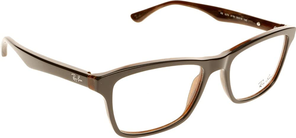 39da244091 Amazon.com  Ray-Ban RX5279 Eyeglasses-5176 Gray Brown-53mm  Shoes