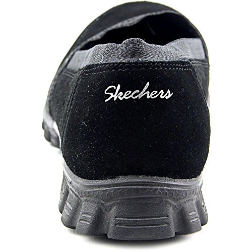 Skechers Ez Flex 2 Entrenadores Hasta Abrazados 22780 Negro Bed Of Roses/Black
