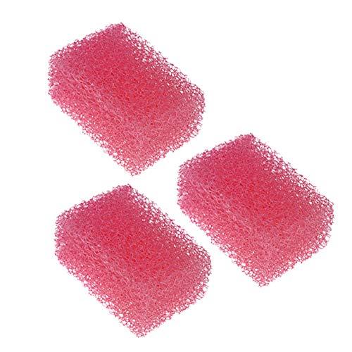CCbeauty 3Pcs Stipple Sponge Professional Special Effect Halloween Makeup Blood Scar and Wound Sponge Fx Makeup Kit ()