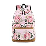 Mbtaua Outdoor School Printed Computer Backpack with USB Port Charge Fits 17 Inch Laptop and Notebook