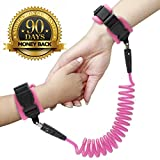 Baby : Anti Lost Wrist Link - Wrist Leash for Kids & Toddlers - Child Safety Wristband