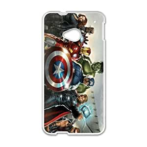 HTC One M7 Cell Phone Case White Avengers PGC Phone Case Store