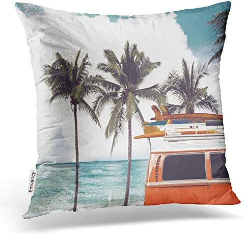 Emvency Surfboard Pillowcases Decorative Pillowcase product image