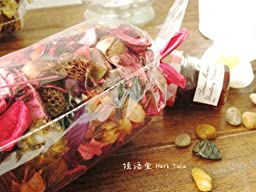 2 Bags /Set of Variety Potpourri - Offers The Rich Scent Combined With a Colorful Blend of Floral and Other Dried Botanicals(Ocean And Orange). Each Bag w/150g Weight Size At 2.5\