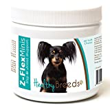 Healthy Breeds Z Flex Minis Dog Hip & Joint Supplement Soft Chews for Russian Toy Terrier - Over 100 Breeds - Small Breed Formula - Glucosamine Chondroitin MSM Omega - 60 Count
