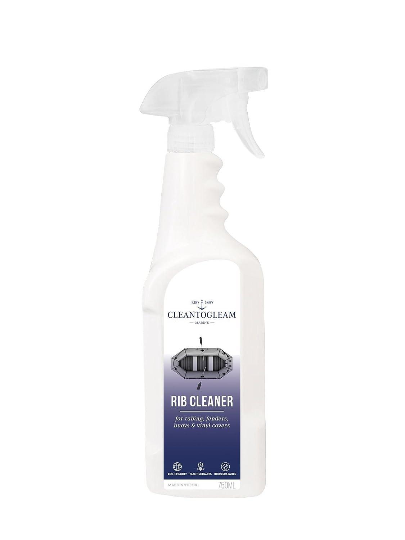 CleantoGleam Products Ltd Pulitore Barca a Coste con Protezione UV   biodegradabile   Adatto per Hypalon, Tubo Flessibile in PVC, parafanghi, Boe e Vinile Covers