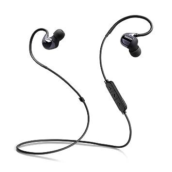 Auriculares Bluetooth, SURPHY Bluetooth inalámbrico Sweatproof Correr Deporte Auriculares, en oreja Auriculares cancelación de