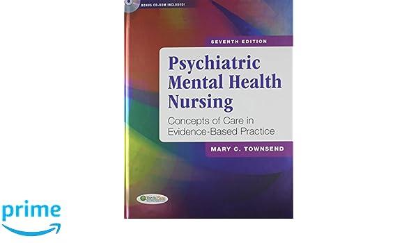 Pkg Psychiatric Mental Health Nursing 7th Nursing Diagnoses In
