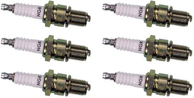 NGK Standard Series Spark Plug BKR6ES (6 Pack) for ALFA ROMEO 164 L 1991-1993 3.0L/2959cc