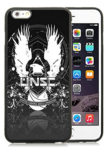 Genuine Halo 4 Unsc Logo Black iPhone 6S Plus 5.5 Inches Shell Case,iPhone 6 Plus TPU Case