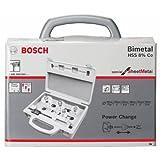 Bosch 2608580089 Hole Saw-Set For Sheet Metal 9 Pcs