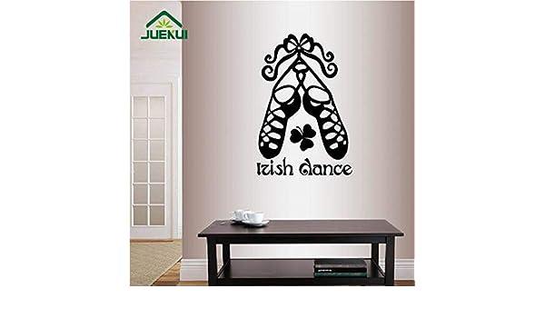 Palabras de Baile irlandés Zapatos de la Muestra decoración ...
